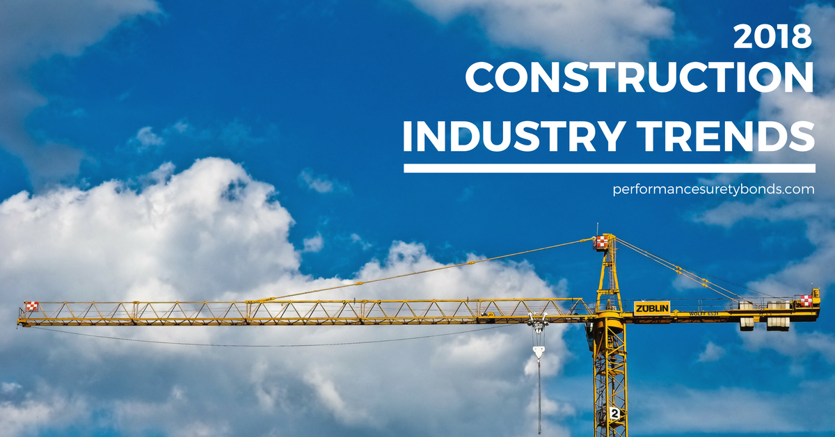 construction industry trends and predictions 2018