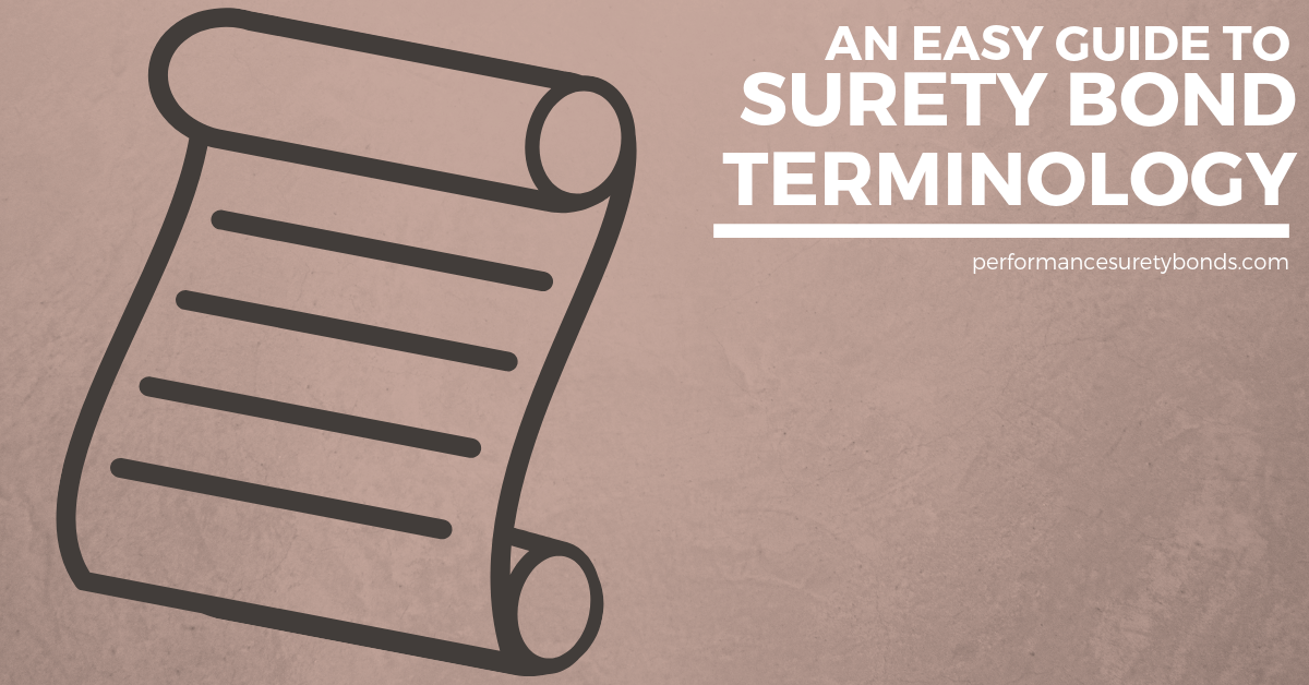 An Easy Guide to Surety Bond Terminology | Infographic