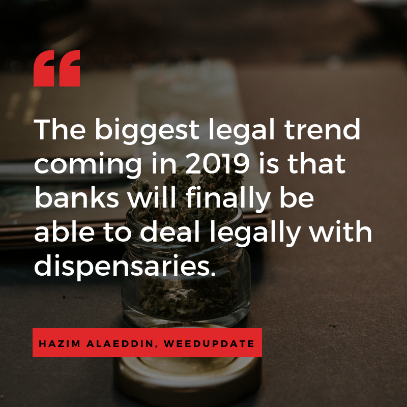 marijuana dispensary trends and predictions - banking and financials