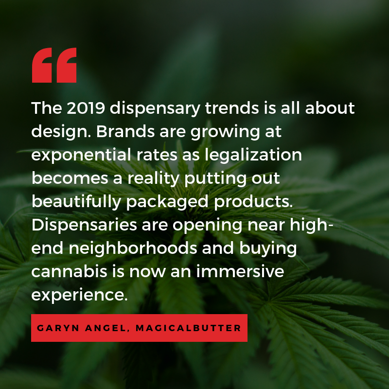 marijuana dispensary trends and predictions - design and customer experience