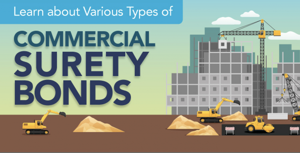 Learn about Various Types of Commercial Surety Bonds [Infographic]