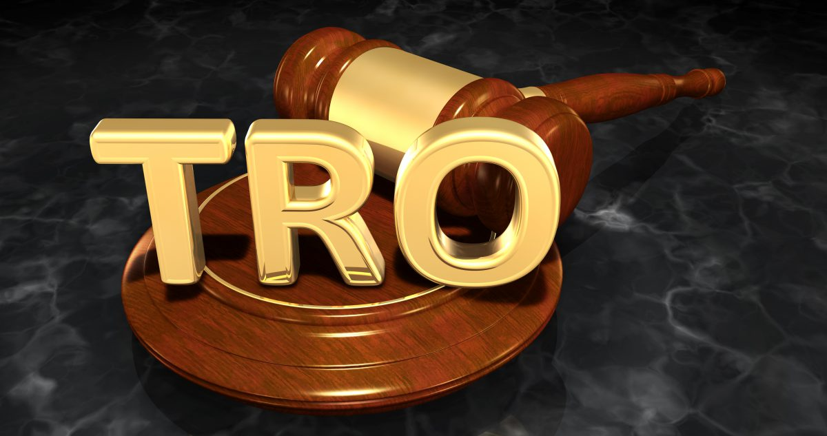 What is a Temporary Restraining Order (TRO) Bond?