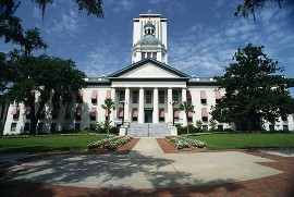 Contractors License Bond in FL - State Capital Building  in Tallahassee, FL